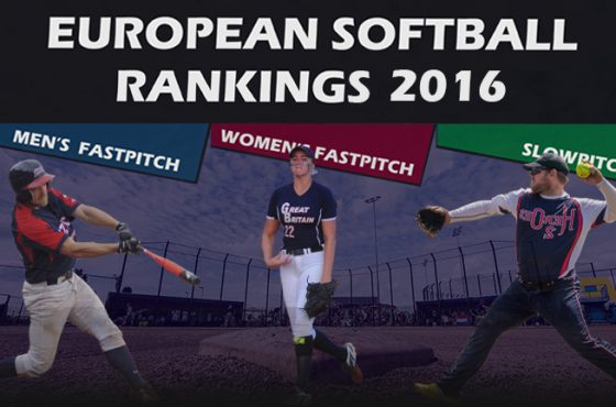 Belgium climbing in ESF Softball Rankings