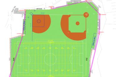 Development of American Sports Zone in Mont-Saint-Guibert