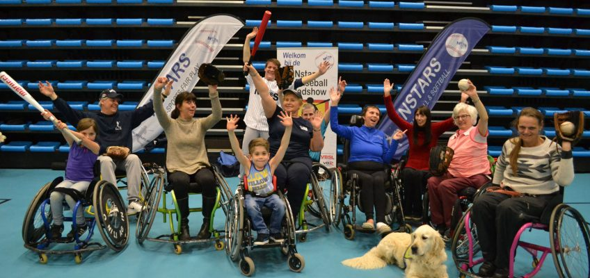 First Wheelchair Baseball Clinics for To Walk Again