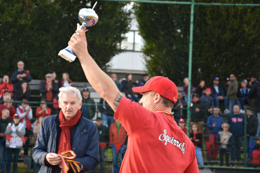 Borgerhout Squirrels win Belgian Series Baseball 2017
