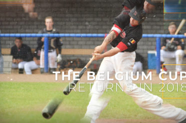 Belgium Baseball Cup is back – First round to be played May 21st 2018