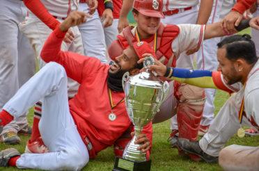 Borgerhout Squirrels win Belgium Cup Baseball 2018