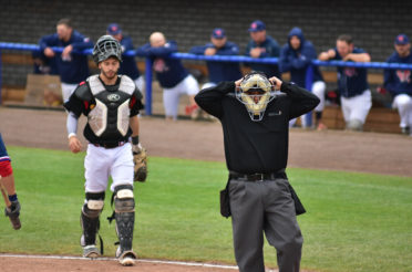 Ken Macri – Top Job as plate umpire at Super6
