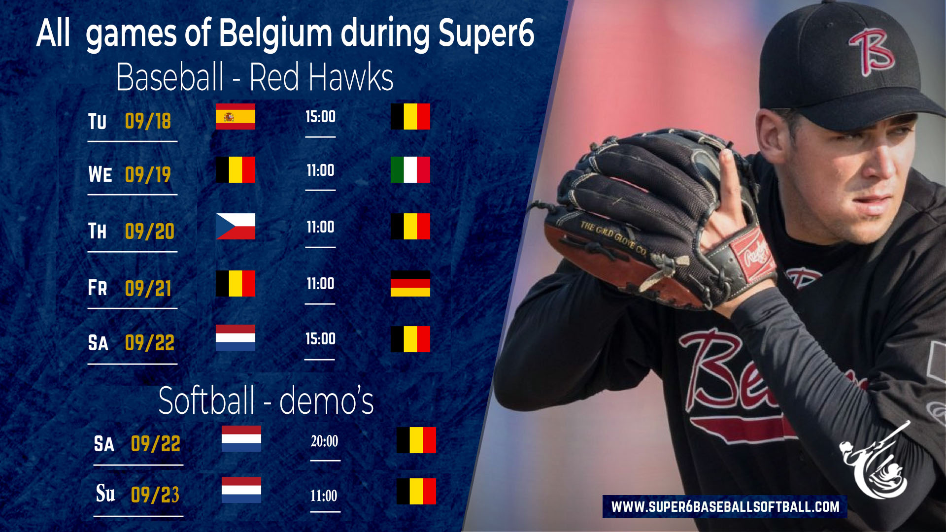 All Games for Belgium at Super6