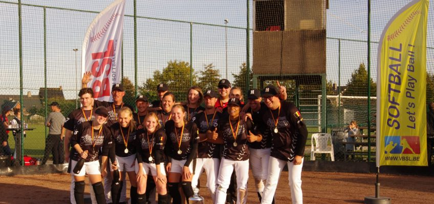 Afterburners win the Belgium Cup Slowpitch 2018