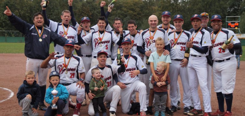 Brasschaat Braves are National Softball Champions 2018
