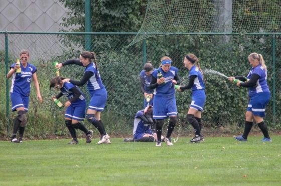 Hoboken Pioneers are National Champions Softball Women 2018