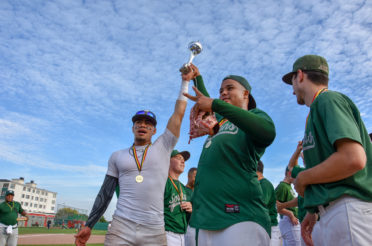 Deurne Spartans win the Belgian Series Baseball 2018