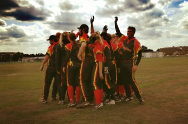 Belgium Bats start their first E.C. Coed Slowpitch in Budapest today