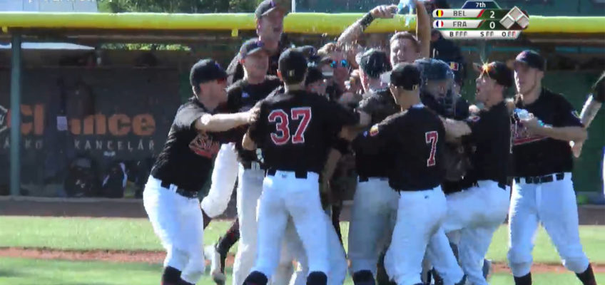BREAKING NEWS – BELGIE WORDT DERDE OP E.K. BASEBALL U23