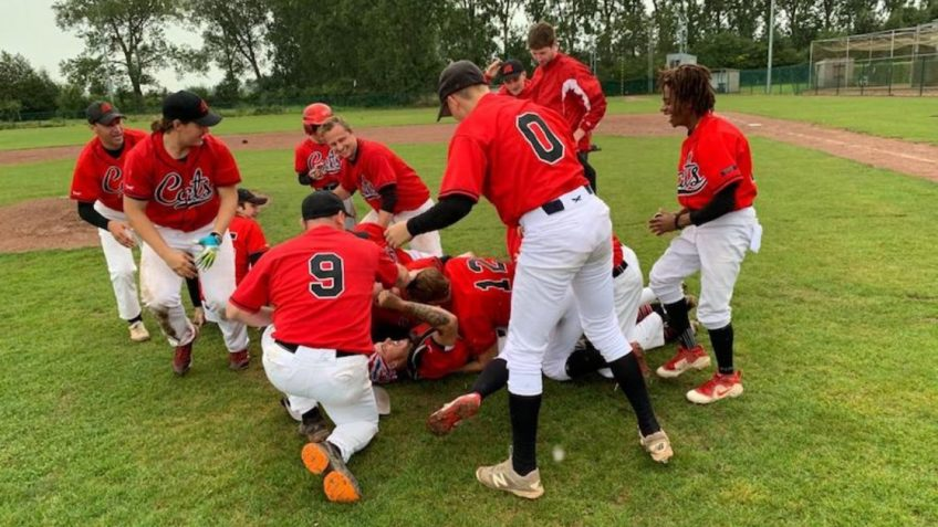 Merchtem Cats are Baseball Division 1 Winner 2019