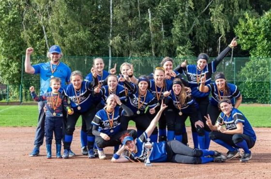 Pioneers win Belgian Series Softball Women 2019