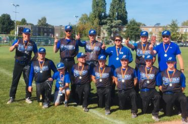 Pioneers win Belgian Series Softball Men 2019
